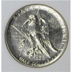 1938 TEXAS HALF DOLLAR