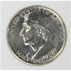 1937-S BOONE HALF DOLLAR