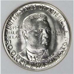 1948 BOOKER T. WASHINGTON HALF DOLLAR