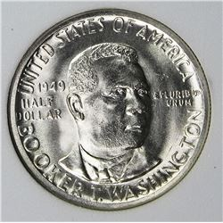 1949 BOOKER T WASHINGTON HALF DOLLAR