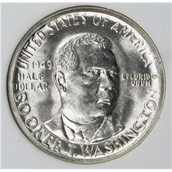 1949-S BOOKER T WASHINGTON HALF DOLLAR