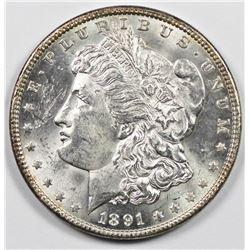1891 MORGAN SILVER DOLLAR
