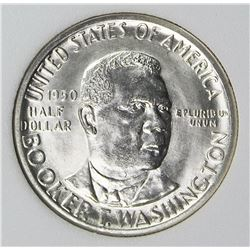 1950-D BOOKER T WASHINGTON HALF DOLLAR