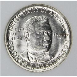 1950-S BOOKER T WASHINGTON HALF DOLLAR