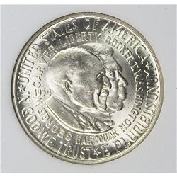 1954 WASHINGTON CARVER HALF DOLLAR