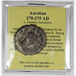 ANCIENT SILVER AURELIAN 270-275 AD