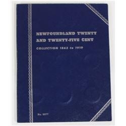 COMPLETE NEWFOUNDLAND TWENTY AND QUARTER SET: