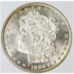 1880/9-S MORGAN SILVER DOLLAR