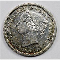 1858 CANADA DIME