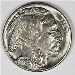 1937-S BUFFALO NICKEL