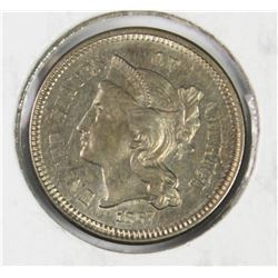 1867 THREE CENT NICKEL