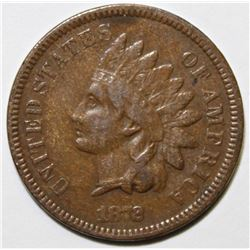 1872 INDIAN CENT