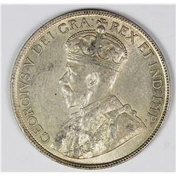 1918 CANADA HALF DOLLAR
