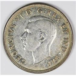 1945 CANADA SILVER DOLLAR