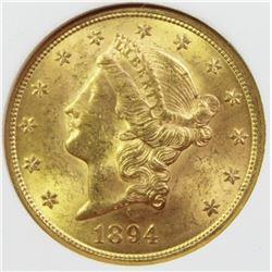 1894 $20 GOLD LIBERTY