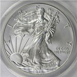 2012-W AMERICAN SILVER EAGLE