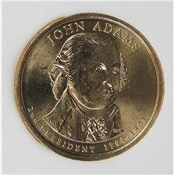 JOHN ADAMS 2007 MINT ERROR DOLLAR