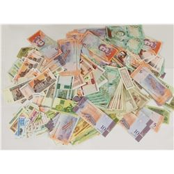 1000 PCS. WORLD BANKNOTES FROM A HUGE COLLECTION!