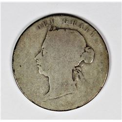 1899 CANADA HALF DOLLAR