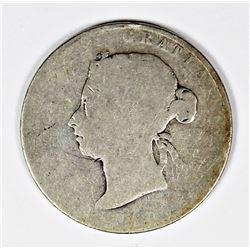 1894 CANADA HALF DOLLAR