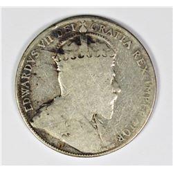 1905 CANADA HALF DOLLAR
