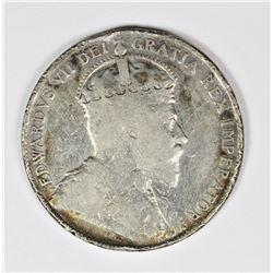 1904 CANADA HALF DOLLAR