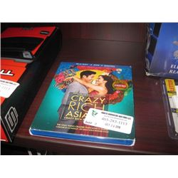CRAZY RICH ASIANS BLUE RAY DVD