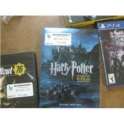 HARRY POTTER 8 DISC DVD SET