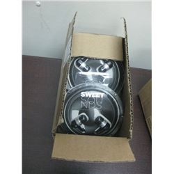 BOX OF 6PC EAR BUDS IESSENTIALS STEREO HEADPHONES