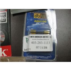DB LINK 100 AMP GOLD PLATED AGU FUSE