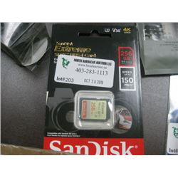 SANDISK EXTREME SDXC I CARD 256GB