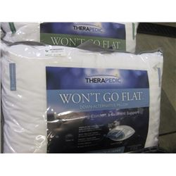THERAPEDIC WONT GO FLAT PILLOW