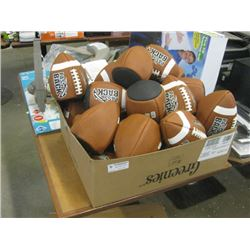 BOX OF PASSBACK STANDUP FOOT BALLS