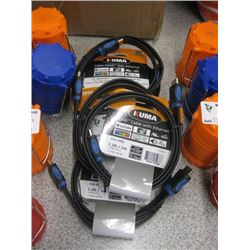 LOT OF HDMI CABLES