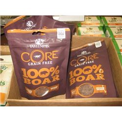 WELLNESS CORE FREEZE DRIED RAW 100% BOAR TREATS