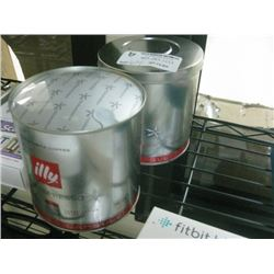 2 CANS ILLY IPERESPRESSO