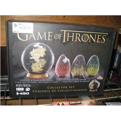 GAME OF THRONES COLLECTOR SET PUZZLE