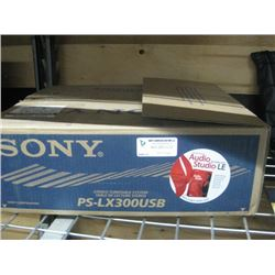 SONY PS-LX300 USB TURNTABLE SYSTEM
