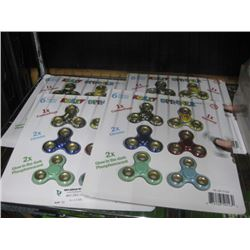 4 PACKAGES 6PC KRAZY SPINNERS