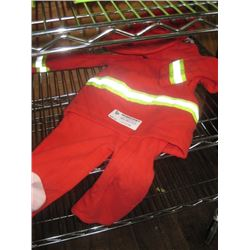 18 MONTH FIREFIGHTER COSTUME