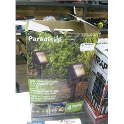 PARADISE LED LOW-VOLTAGE FLOODLIGHT KIT 4PC