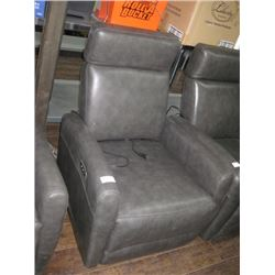GREY POWER RECLINER TESTED WORKING