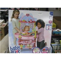 BABY ALIVE COOK'N CARE 3 IN 1 SET