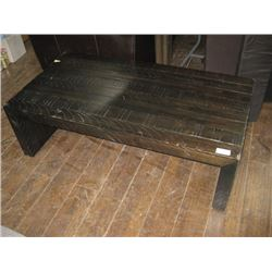 AS-IS WOOD DAMAGE TV CONSEL COFFEE TABLE