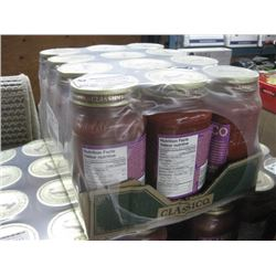 CLASSICO TUSCAN STYLE OLIVE AND GARLIC PASTA SAUCE 12 X 650 EXP 2020