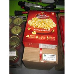 ORVILLE REDENBACHER 6 BAGS X 6 BOXES EXTRA BUTTERY