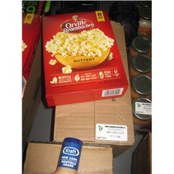 ORVILLE REDENBACHER 6 BAGS X 6 BOXES BUTTERY