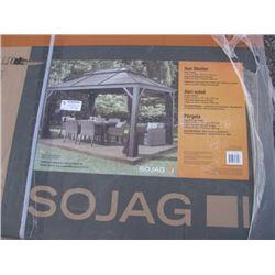 SOJAG SUN SHELTER 1280714 10 X 13FT APPROX COMPLETE BOXES
