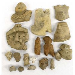 PreColumbian Pottery Throws