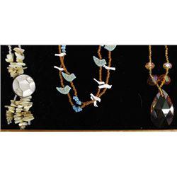 Hand Beaded Necklaces by Kathy Kills Thunder